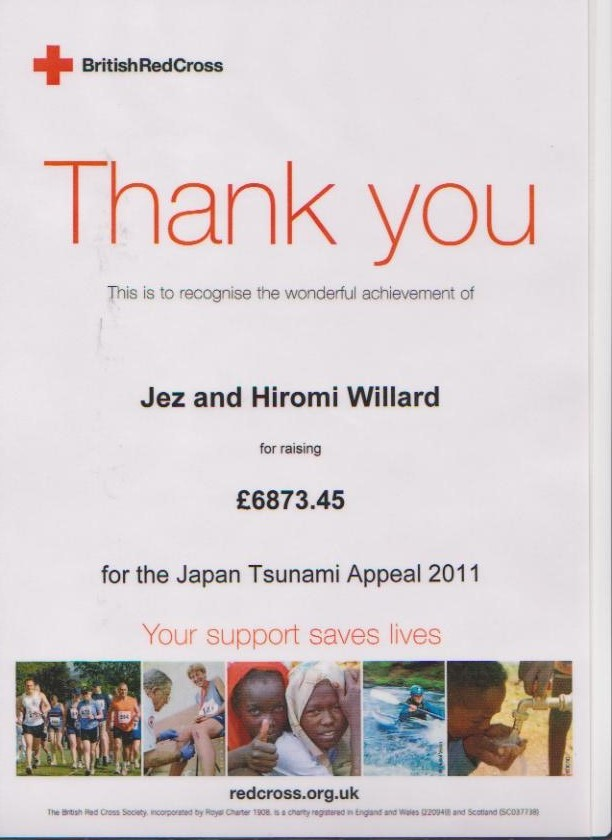 Red Cross Japan Tsunami Appeal